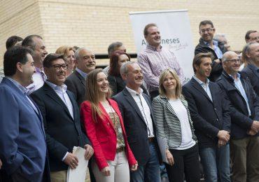 Arturo Aliaga reivindica la fuerza del PAR en los ayuntamientos para trabajar más por los aragoneses
