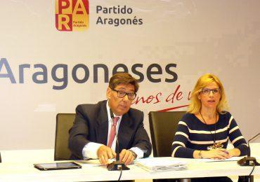 Presentación del segundo bloque del programa electoral del Partido Aragonés