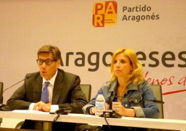 Aliaga presenta el cuarto bloque del programa electoral del Partido Aragonés