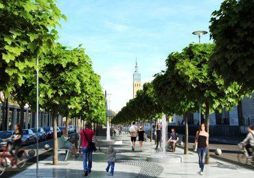"""Xavier de Pedro propone una ciudad """"con más naturaleza"""" mediante la implantación de vías verdes y la creación de un nuevo parque en San José"""