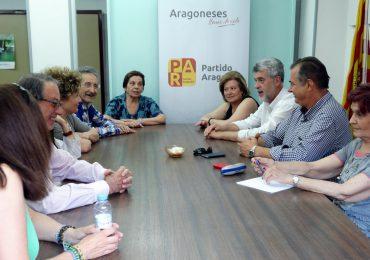 El Comité local del Partido Aragonés garantiza su compromiso de trabajo por Huesca y los oscenses