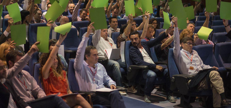 Arturo Aliaga logra un abrumador respaldo en el XIV congreso del Partido Aragonés