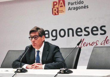 Aliaga lamenta la falta de apoyo de la UE y pide a Madrid que defienda la TCP y el Canfranc en el Parlamento Europeo