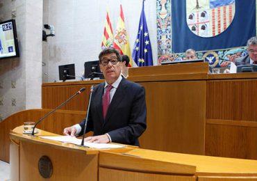 Aliaga expresa su satisfacción por la bajada del paro en Aragón en 9.000 personas