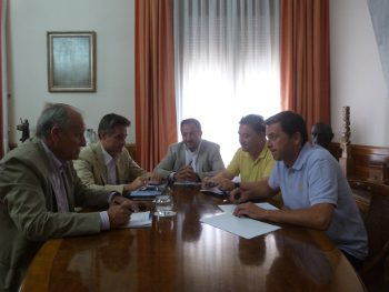El presidente de la DPT defenderá la participación de los agentes empresariales en la gestión de los fondos FEDER tras la inclusión de Teruel como ITI