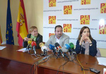 Los concejales y alcaldes del PAR en Teruel presentarán mociones en sus respectivos ayuntamientos para que se rectifique la convocatoria de subvenciones del FITE 2015