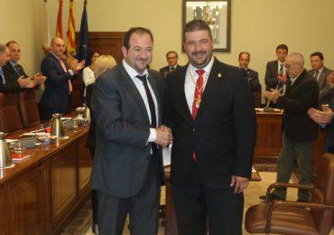 La DPT, presidida por el aragonesista Ramón Millán, aprueba una declaración institucional en demanda de inversiones en el eje ferroviario Cantábrico-Mediterráneo