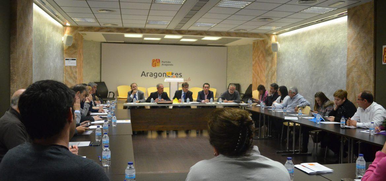 El Partido Aragonés se suma al acuerdo para afianzar la unidad en defensa por las libertades y en la lucha contra el terrorismo