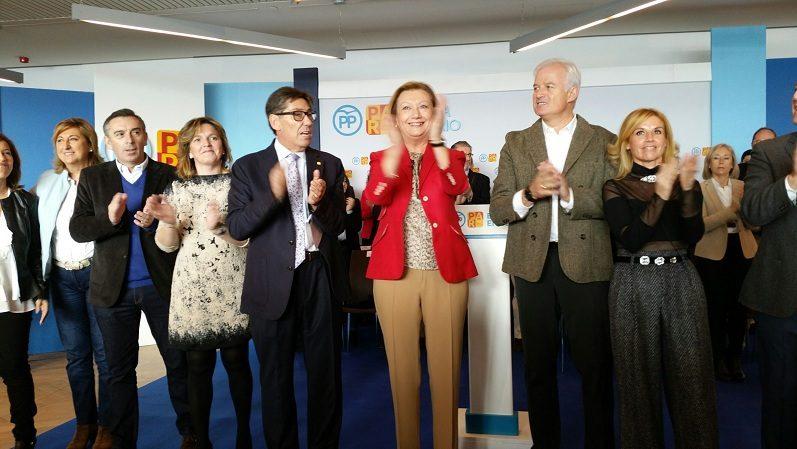 """Aliaga: """"La coalición PP-PAR responde a un acuerdo de responsabilidad para construir más Aragón en España y más España en Aragón"""""""