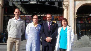 El PAR Zaragoza se reúne con la asociación de detallistas del Mercado Central y muestra su preocupación por la actual situación que atraviesan sus establecimientos