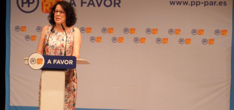 La coalición PP-PAR anima a no dividir el voto moderado en Teruel distribuyendo postales informativas