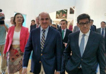 """Aliaga: """"Queremos que el tejido empresarial aragonés crezca y que España no se pare, porque si se para, Aragón se para"""""""