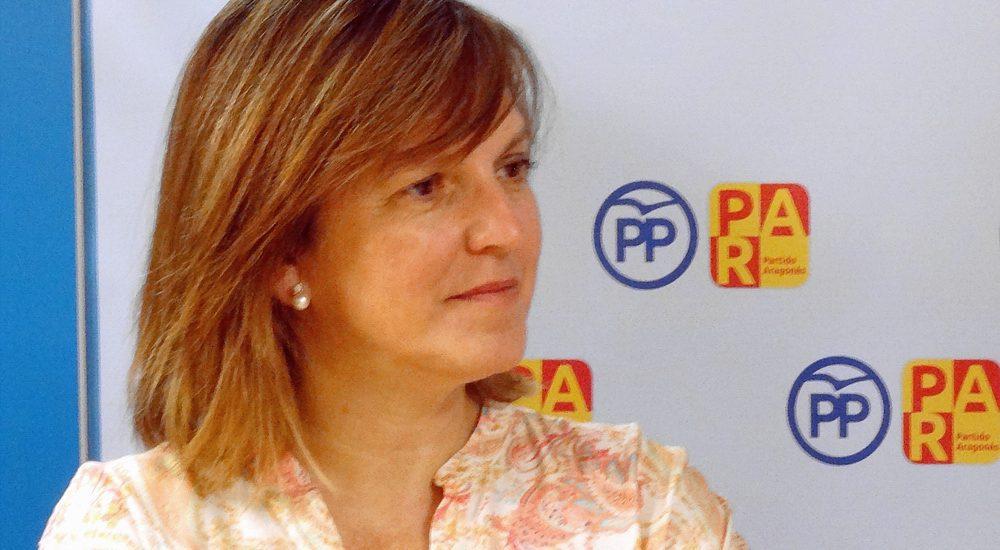 Belén Ibarz llama a votar ahora más que nunca a favor de Aragón y de España, a la Coalición PP-PAR