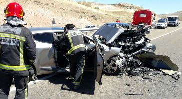 Aliaga lamenta el nuevo accidente en la N-232 y pide la máxima urgencia para los desdoblamientos