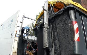 PAR Zaragoza reclama reforzar las medidas contra la quema de contenedores