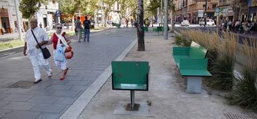 El PAR Zaragoza urge a ZEC el arreglo del bulevar de la Gran Vía-Fernando el Católico