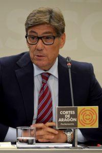 Aliaga  critica el «espectáculo lamentable» de la izquierda y recalca que Aragón «necesita Presupuestos»