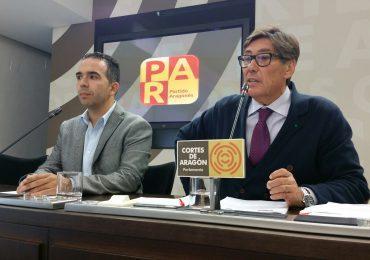 Aliaga urge a Lambán la Ley del Fomento Industrial que incorpore el impulso a la industria 4.0