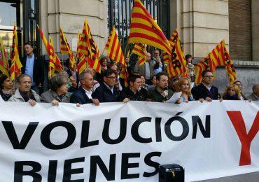 Aliaga pide a la DGA que no se preste a ningún acuerdo o solución «trampa» que pudiera proponerle la Generalitat por las pinturas de Sijena