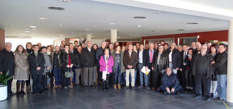 Asistentes a la jornada del PAR en Fraga y Bajo Cinca