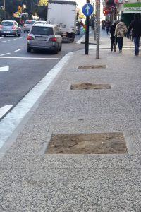 El PAR Zaragoza reclama al Ayuntamiento la finalización de las obras de la Calle Rioja