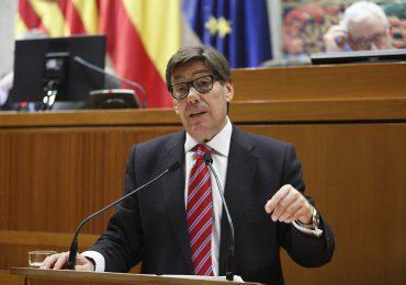 """Aliaga defiende el papel del PAR en Madrid y se compromete a seguir """"tirando del carro"""" para que se desbloqueen las infraestructuras pendientes en Aragón"""