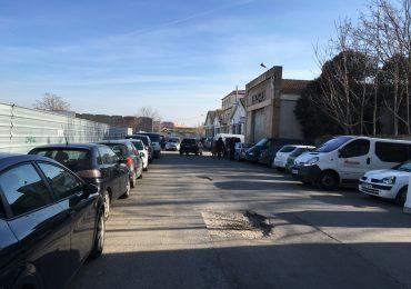"""El PAR de Huesca plantea al ayuntamiento que impulse alguna gestión para el solar de las harineras y """"al menos, haga cumplir el deber de conservación"""""""