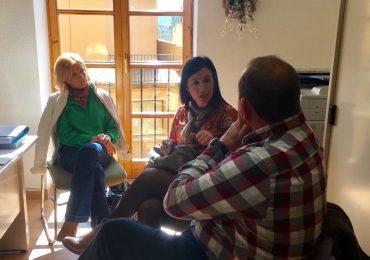 El Partido Aragonés continúa trabajando los municipios de las Cinco Villas