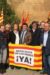 """Aliaga dice que """"no es de recibo"""" que el nuevo consejero catalán de Cultura siga """"dando largas""""  para no entregar los bienes a Aragón"""""""