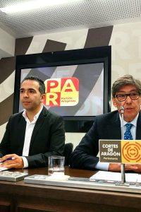 El PAR lleva al pleno de las Cortes su preocupación por la educación concertada y los polígonos industriales