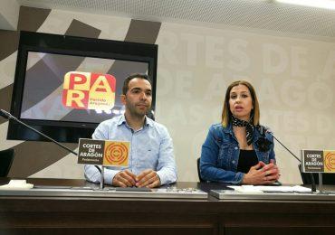EL PAR exige a la DGA que consolide y potencie los grandes proyectos de Aragón y plantee otros nuevos y estratégicos a medio y largo plazo