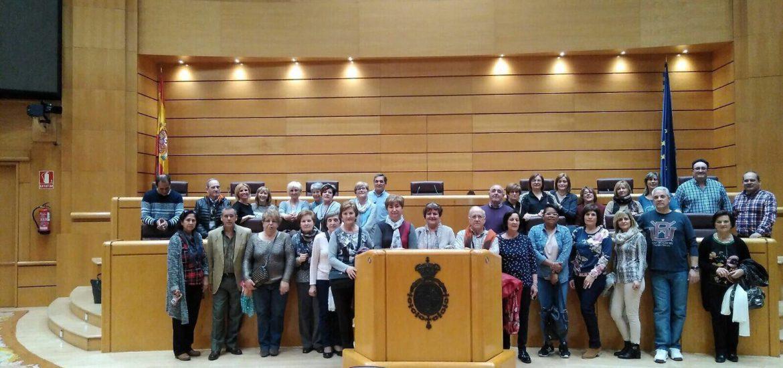 Villafranca de Ebro visita el Congreso y el Senado