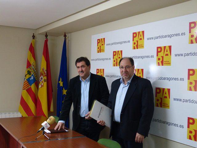 El Partido Aragonés en el Ayuntamiento de Teruel solicita modificar el Impuesto de Sucesiones y Donaciones