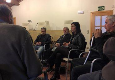 Reunión en la Comarca Campo de Daroca