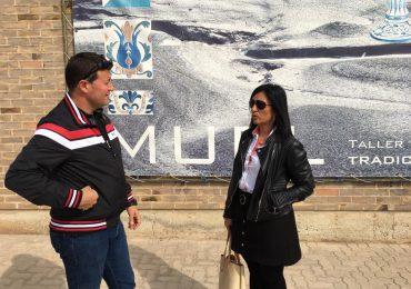 Visita a Muel y Mozota
