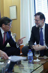 """Aliaga pide a Rajoy """"un esfuerzo especial"""" con la ejecución de los PGE en Aragón"""