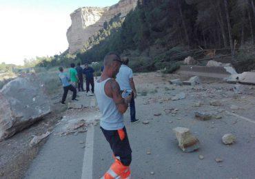 El Partido Aragonés de Bajo Cinca-Baix Cinca insta a la DGA a una actuación para prevenir futuros desprendimientos de las ripas de Ballobar