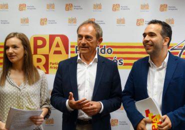 El PAR plantea enmiendas al presupuesto de la Comunidad para impulsar el empleo y las políticas sociales en Huesca y el Alto Aragón