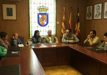 Visita y reunión en Villafranca de Ebro
