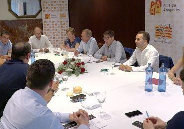 Aliaga anuncia en Huesca que el programa del PAR en 2019 será global para Aragón y a medida de las necesidades de los aragoneses