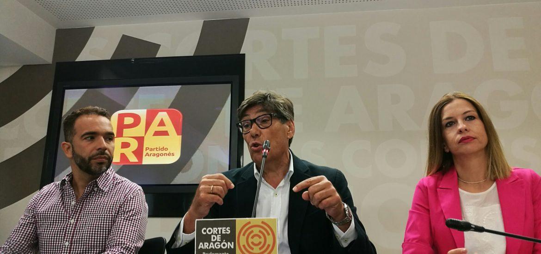 El PAR solicita comparecer en el Parlamento catalán para reclamar el Patrimonio aragonés retenido en Cataluña