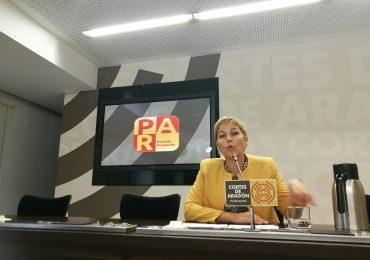 Zapater (PAR) pide a Soro que asegure las ayudas para alquiler de vivienda a todos los solicitantes aragoneses en tiempo y forma