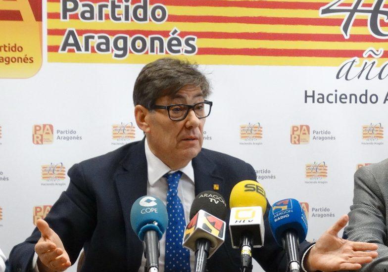 """Aliaga: """"Solo aceptaremos un nuevo modelo de financiación autonómica que sea para Aragón mejor que el anterior"""""""