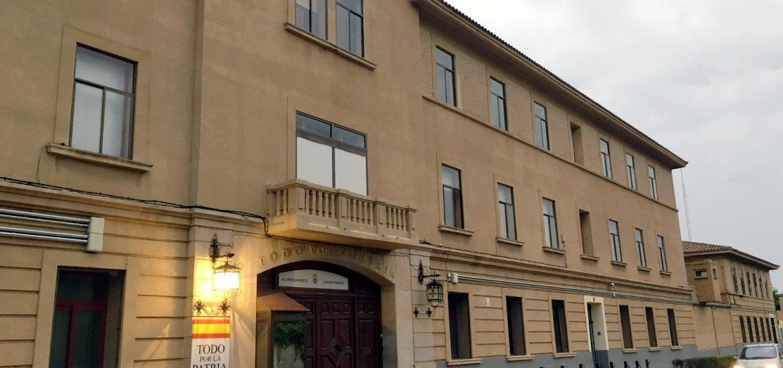 El PAR-Huesca pregunta al Gobierno central en el Senado por la 'posible y positiva' reapertura del cuartel Sancho Ramírez