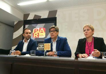 """Aliaga: """"El Gobierno de Aragón no tiene excusa. Los 10 millones de Amancio Ortega que llegan como el gordo de la lotería, debe usarlos para llevar aceleradores lineales a Huesca y Teruel"""""""