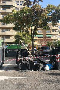 PAR Zaragoza insiste en la instalación de contenedores ignífugos
