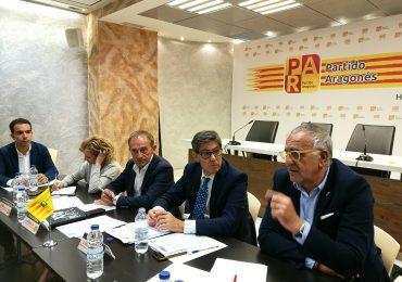 Acuerdo adoptado por la Comisión Ejecutiva relativo a la posición del Partido Aragonés en relación con la aplicación del artículo 155 de la Constitución