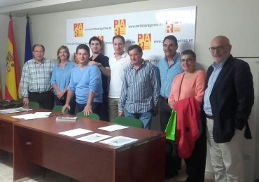 El Partido Aragonés en la comarca Comunidad de Teruel ratifica su compromiso con la Constitución ante el desafío soberanista de Cataluña