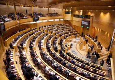 La Comisión de Medio Ambiente del Senado muestra su solidaridad con los afectados por los incendios (Video)