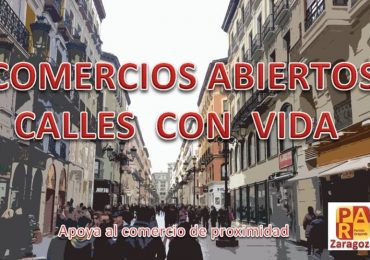 PAR Zaragoza reclama medidas para evitar el deterioro del sector de los trabajadores autónomos